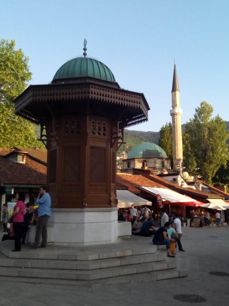 Stadtzentrum von Sarajevo
