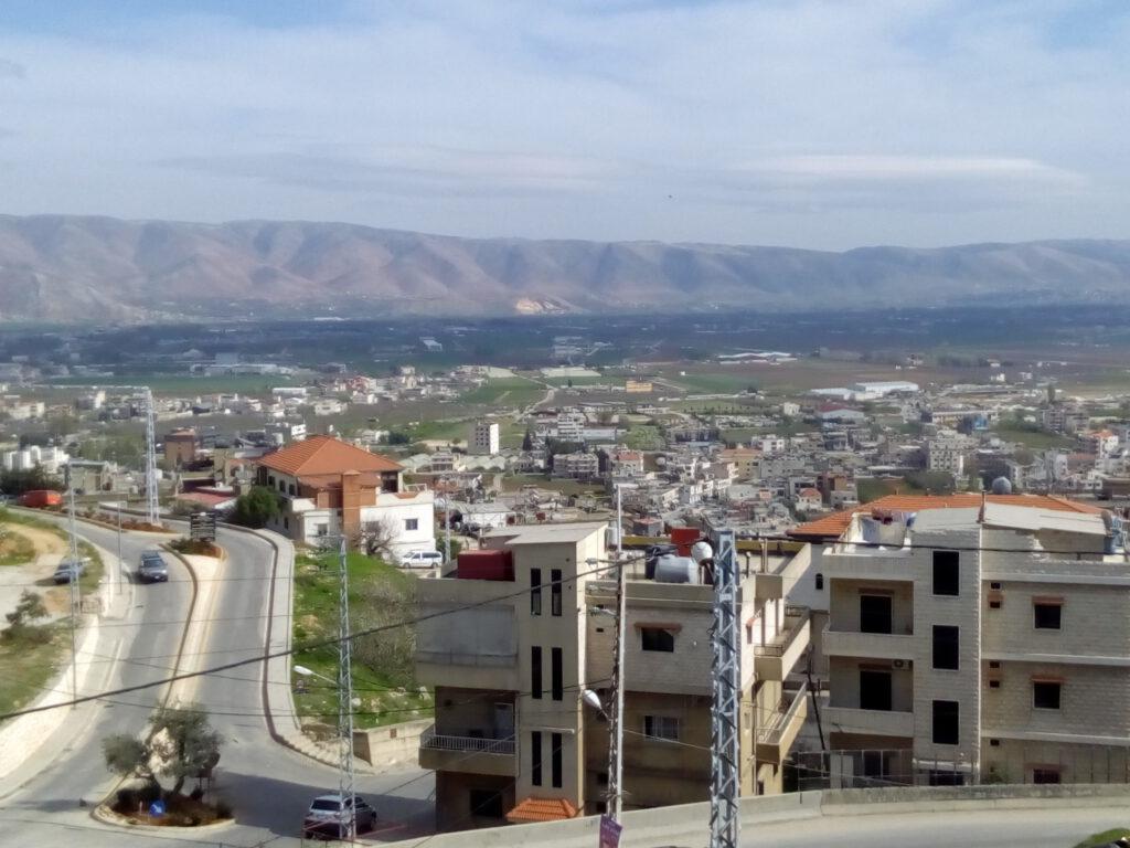 Libanon Bekaa-Tal an der Grenze zu Syrien